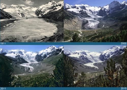 Gletscher in der Schweiz – Gletscherarchiv
