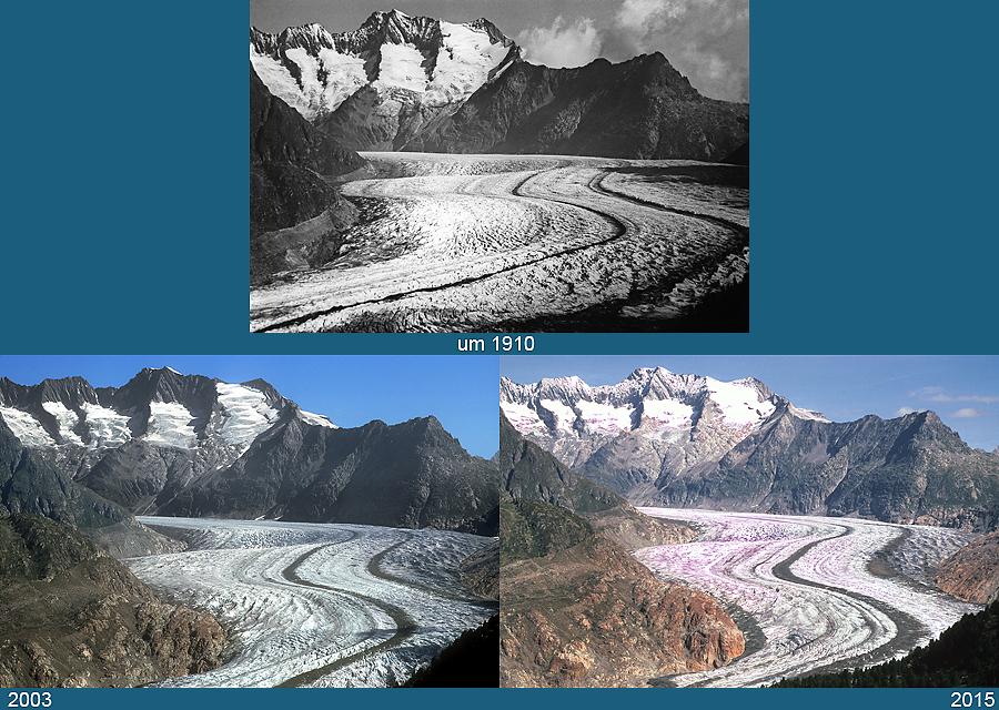 Az Aletsch-gleccser változása 1900 és 2015 között (gleccserarchiv.de)